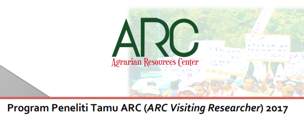 ARC Indonesia - ARC Researcher Visitor 2017